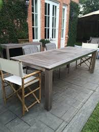 Stainless Steel Patio Table Dining Tables Magnificent Furn Od Teak Diningtbl Crop Sh Outdoor