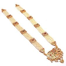 gold rani haar sets pearls grand moti rani haar necklace set for women