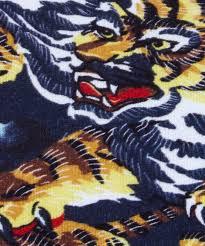 kenzo brown cotton flying tiger sweatshirt in brown for men lyst