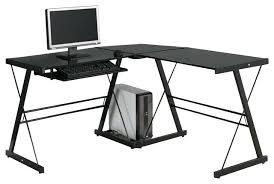 Black Ash Computer Desk L Shaped Black Desk U2013 Hugojimenez Me