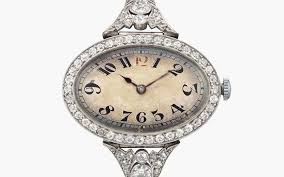 ladies necklace watch images Women 39 s watches what collectors look for christie 39 s jpg