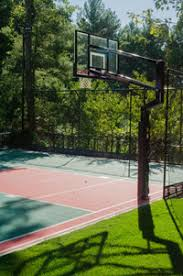 Backyard Sport Courts by Naturescape Landscape Backyard Basketball Courts And Sport
