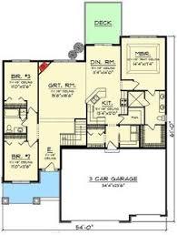 plan 1602 3 split bedroom ranch w walk in pantry walk in