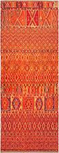 Red And Orange Rug Vintage Moroccan Rug Bb4810 By Doris Leslie Blau