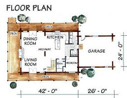 log cabin home plan the chaparral
