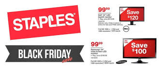 black friday sale on monitors top 5 deals staples 2015 black friday ad