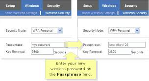 resetting wifi password linksys official support changing your wireless network password