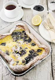 cuisine pancake pancake with blueberries
