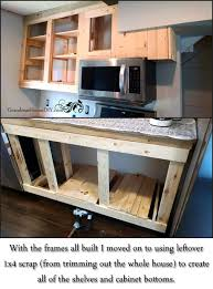 Building Cabinet Carcasses Design Simple Build Your Own Kitchen Cabinets Ana White Face Frame