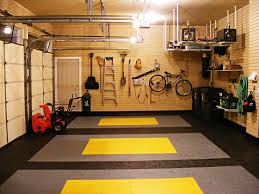 Garage Design by Exterior Garage Design Idea With Hanging Metal Storage Also Wall