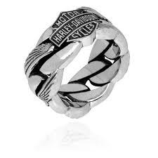 Harley Davidson Wedding Rings by Harley Davidson Men U0027s Heavy Wing Chain Ring Hdr0188 Men U0027s H D