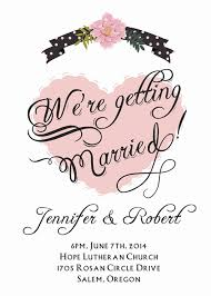 simple wedding invitation wording classic affordable blush pink heart wedding invitations ewi329 as