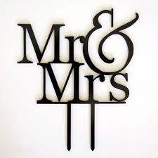 mrs mrs cake topper new mr and mrs black acrylic cake topper laser cut and groom