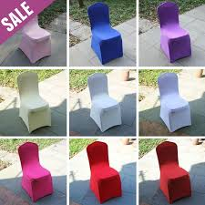 cheap spandex chair covers cheap thickened white universal spandex chair cover party
