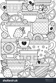 vector coloring page coloring book stock vector 386576455