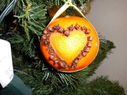 kt u0027s refinishing holiday craft orange and clove ornaments