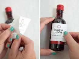 wine bottle wedding favors diy mini wine bottle favors celebrations celebrations ltd