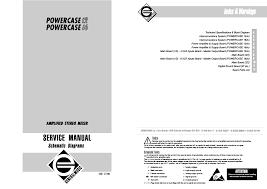 generalmusic powercase12 16 mixer service manual download