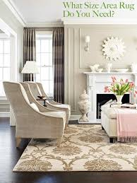 livingroom area rugs what size area rug do you need the decorologist