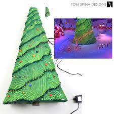 nightmare before christmas tree movie prop restoration tom spina
