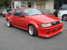 85 toyota corolla japanese modified cars for sale and for exporting toyota nissan