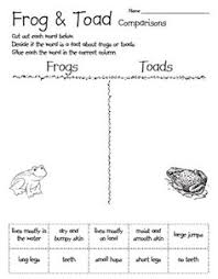 life cycle of a frog frog and toad venn diagrams and life cycles