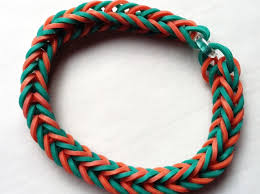 bracelet elastic images How to make a fishtail bracelet with elastics and pens snapguide jpg