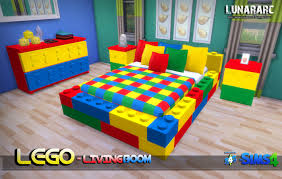 Lego Bed Frame Lunararc Sims Lego Bedroom Set