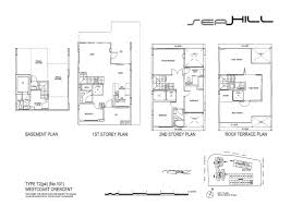 townhouse 4 bed seahill