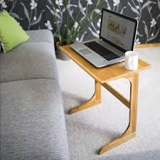 couchtisch 80 x 60 holz relaxdays laptoptisch bambus h x b x t ca 62 5 x 60 x 40 cm