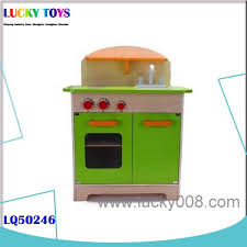 2015 new promotional wooden play kitchen set toy for developing