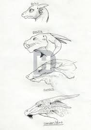 how to sketch a dragon step by step drawing guide by darkonator