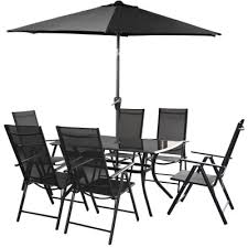 Patio Table 6 Chairs 6 Chair Garden Patio Sets Metal Resin U0026 Wooden Furniture 5