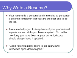 How To Job Resume by 1 Peirce College Career Development Services The Basics Of