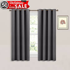 bedroom window curtains short curtains amazon com