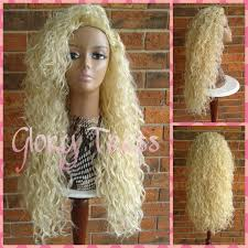 clearance long curly half wig curly wig long