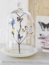 Diy Butterfly Decorations by Butterfly Bell Jar Butterflies Butterfly And Sweet Paul