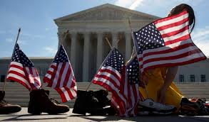 The Story So Far Flag After Supreme Court Ties 4 4 On Immigration Obama Asks For
