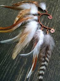 how to make feather ear cuffs 181 best crafting ear cuffs and masks images on ear