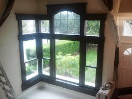 decorations simple corner window with velvet curtains ideas