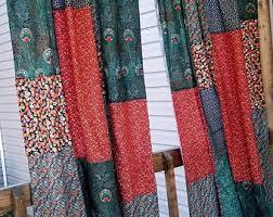Bohemian Drapes Boho Curtains Etsy