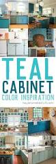 Painted Blue Kitchen Cabinets Best 20 Teal Kitchen Cabinets Ideas On Pinterest Turquoise