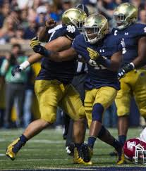 Quenton Nelson Bench Press Getting The Last Laugh Julian Okwara Growing Into Key Role On
