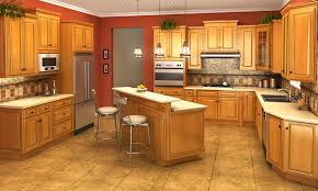 Landmark Kitchen Cabinets by Sample Kitchen Savannah Finish