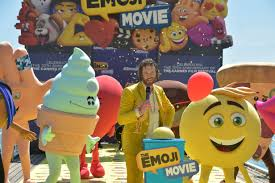 the emoji movie jailbreak can u0027t dance youtube t j miller promotes his film the emoji movie in a unique style