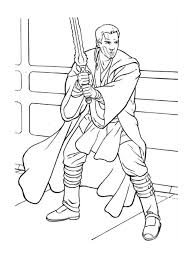 obi wan kenobi coloring page free download
