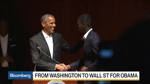 obama u0027s fast journey from washington to wall street bloomberg