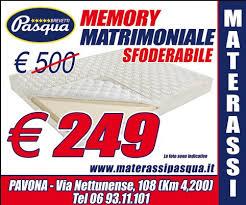 materasso matrimoniale offerte offerta materasso 160x190