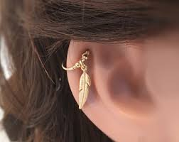 cartilage earing cartilage earring etsy