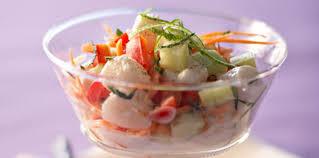 cuisine tahitienne recettes salade tahitienne facile et pas cher recette sur cuisine actuelle